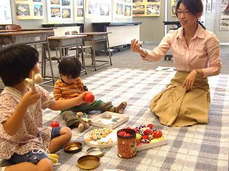 昭和の遊び道具を楽しんでくださいました!