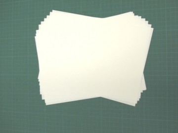 図書館では一般的なコピー用紙を使っています。
